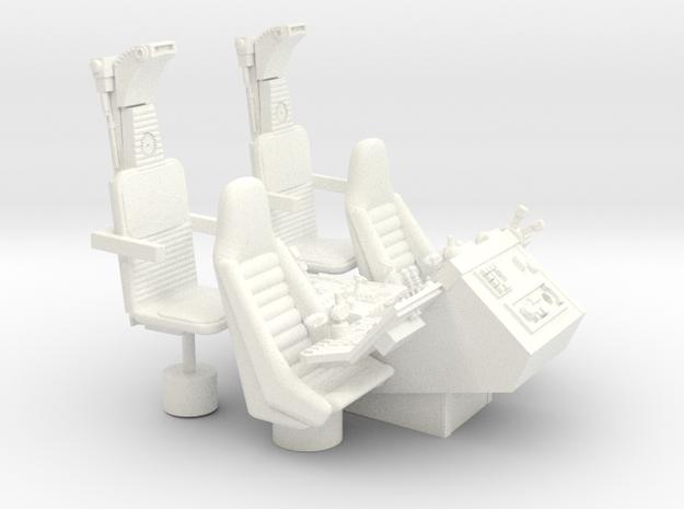 1/12 COCKPIT CONSOLE SEATS