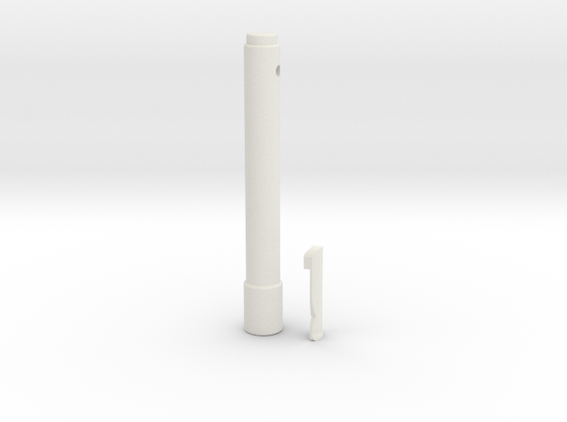 Rebles Code Cylinder in White Strong & Flexible
