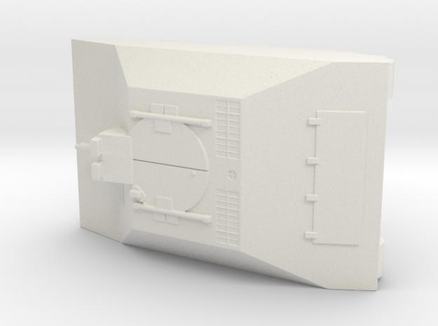 hetzer 5.5cm 1/72 in White Natural Versatile Plastic