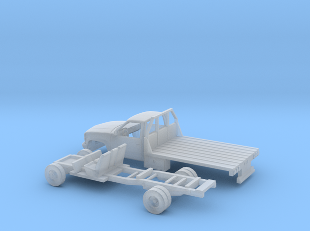 1/160 1990-98 Chevrolet Silverado Reg.Cab Flatbed  in Frosted Ultra Detail