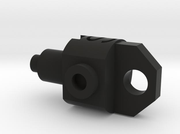 Deranged PTS Masada Gas Adjuster in Black Natural Versatile Plastic