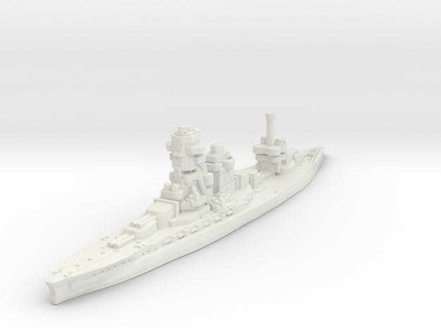 Ise Battleship-1942 (IJN) in White Natural Versatile Plastic