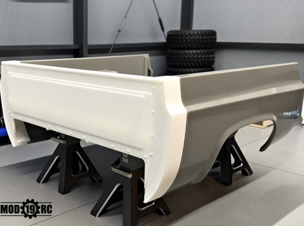 Bed Extension -12 In. Wheelbase for RC4WD Blazer  in White Natural Versatile Plastic