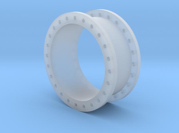 Rohrleitung 1000mm x 500mm - TT 1:120 in Smooth Fine Detail Plastic