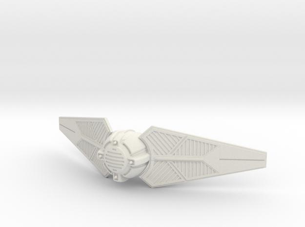 Tie Predator I in White Natural Versatile Plastic