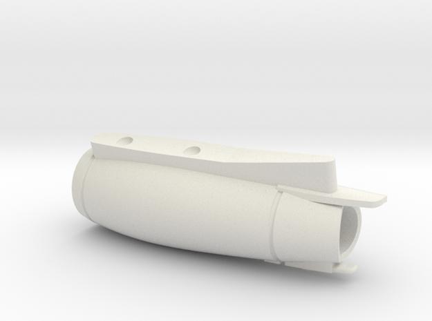 08-GIVSP-144scale-Engine-Stbdside in White Natural Versatile Plastic