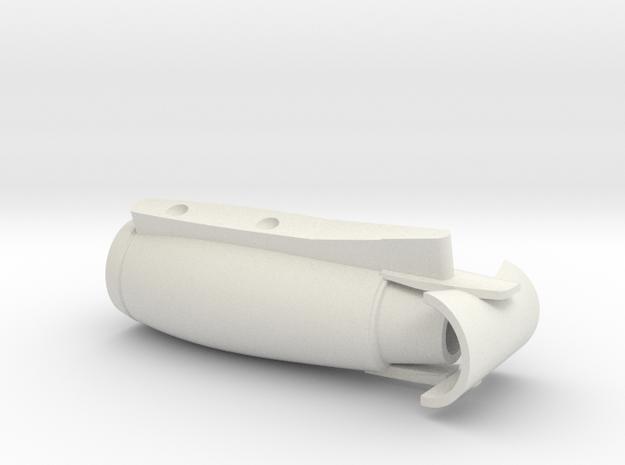 11-GIVSP-144scale-Engine-Stbdside-ThrustReverse in White Natural Versatile Plastic
