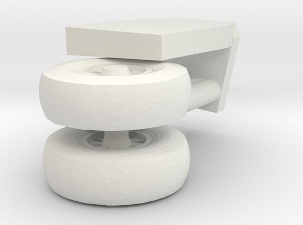 15-GIVSP-144scale-PortsideLandingGear-Compressed in White Natural Versatile Plastic