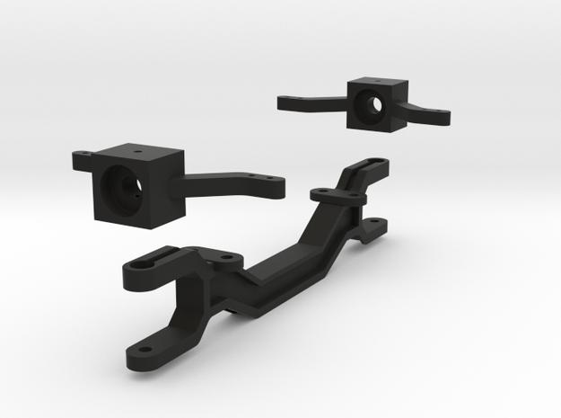front-axle-assy in Black Natural Versatile Plastic