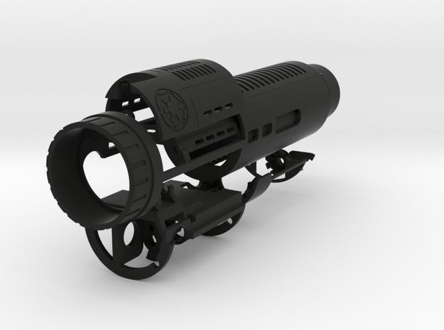MPP 2 Chassis_V2 in Black Natural Versatile Plastic
