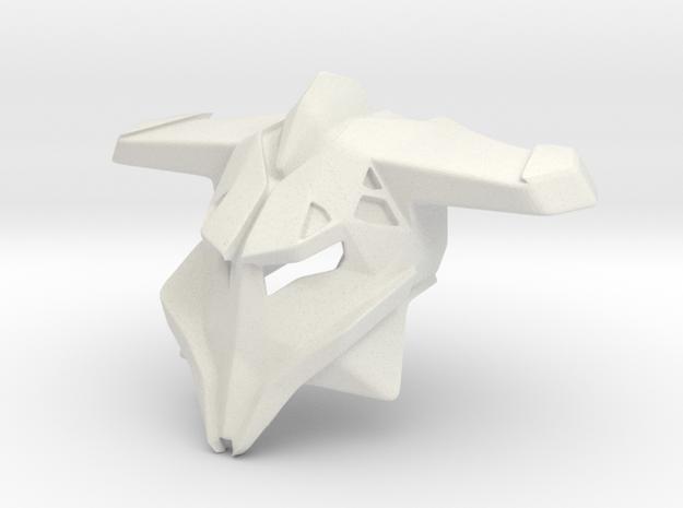 Kanohi Loki, Mask of Manipulation in White Natural Versatile Plastic