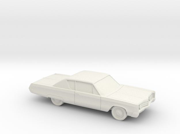 1/72 1967 Chrysler 300 Coupe in White Natural Versatile Plastic