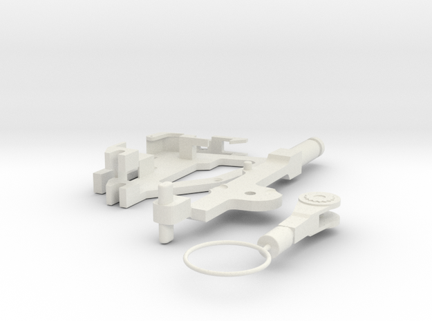 OPS-8-inches in White Natural Versatile Plastic