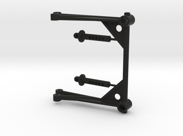 JConcepts - ZRP body mount in Black Natural Versatile Plastic