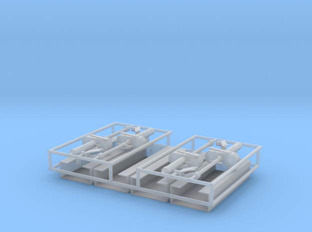 MG15 Ammo Racks and Gun 1 zu 24