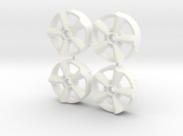 MST / Torq Thurst Insert (x4) in White Processed Versatile Plastic