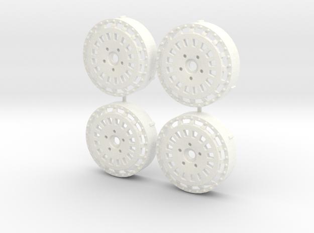 MST / VIP Modular VX 210 Inserts (x4) in White Processed Versatile Plastic