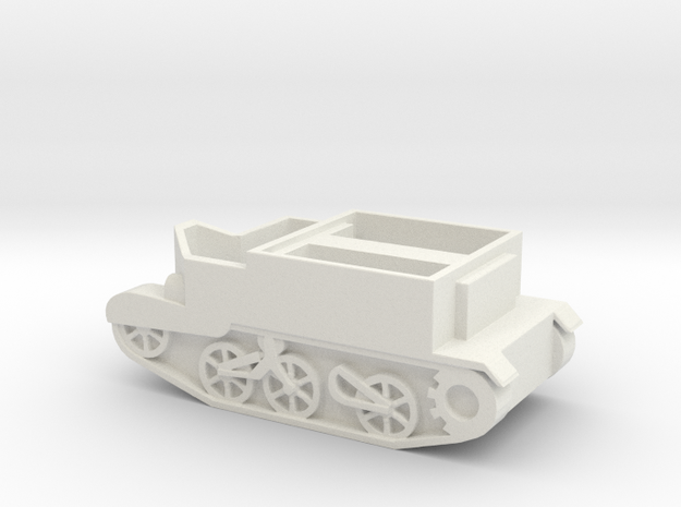 Universal (Bern Carrier  in White Natural Versatile Plastic