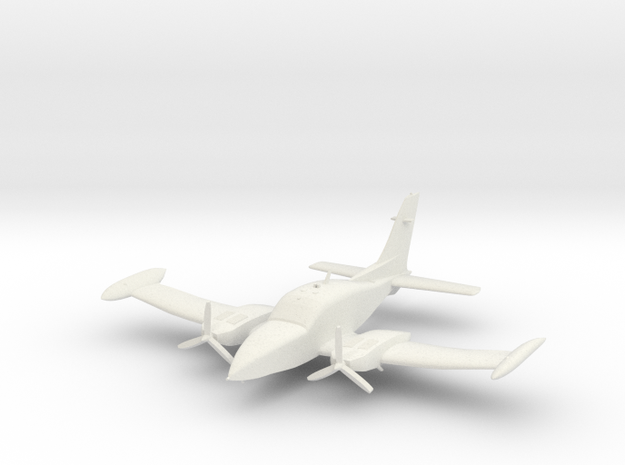 Cessna 310 in White Strong & Flexible