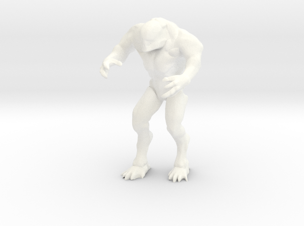 Hell Knight - Doom in White Processed Versatile Plastic