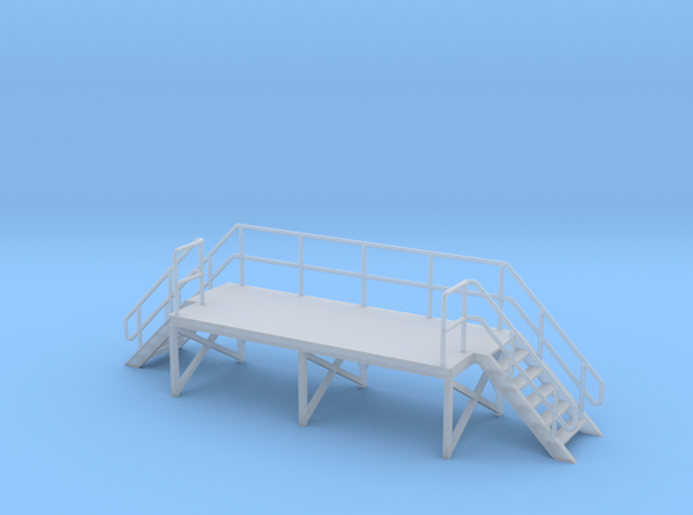 1:72 Train Crew Platform in Smooth Fine Detail Plastic