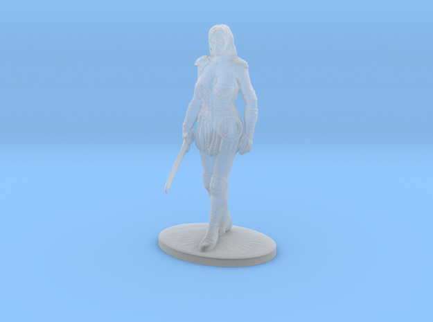 Xena Miniature in Smoothest Fine Detail Plastic: 1:60.96