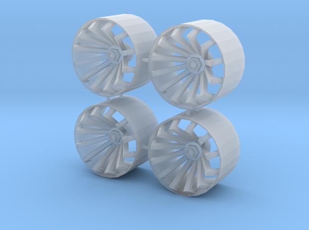 1/24 1/25 wheel type 2
