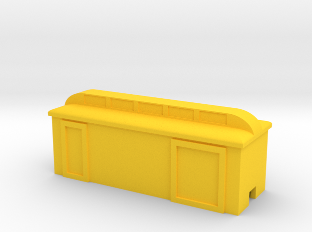 Colorado Southern Baggage in Yellow Processed Versatile Plastic