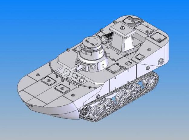 1/144 IJN Type2 Amphibious tank(late type)