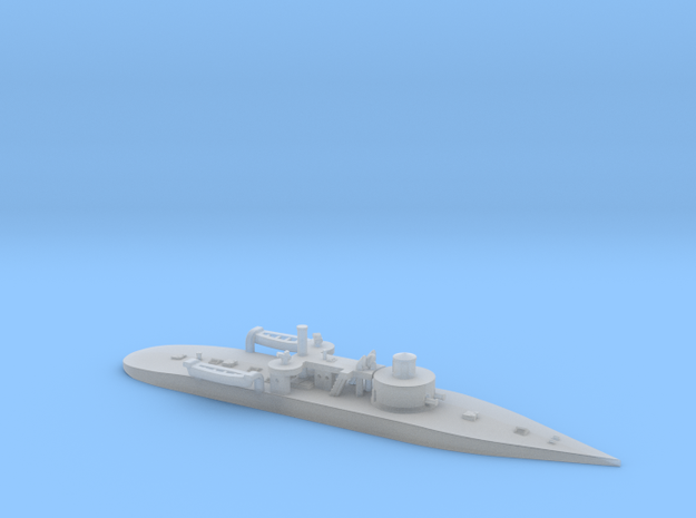 1/1250th scale SMS Leitha (1887) in Smooth Fine Detail Plastic