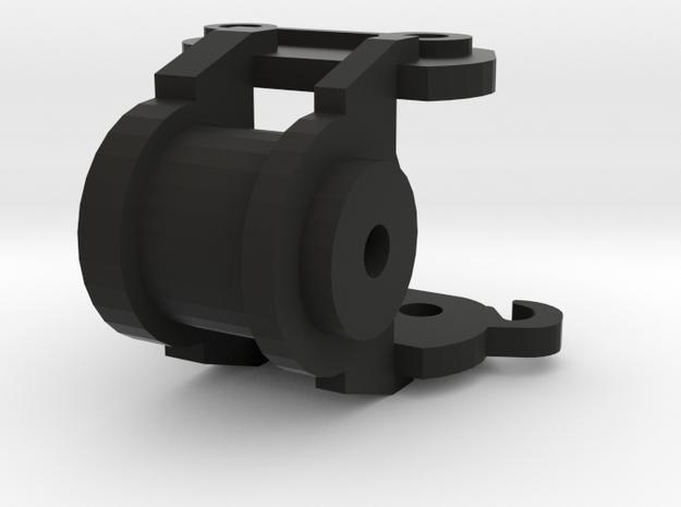 powertilt 75mm bovenstuk in Black Natural Versatile Plastic