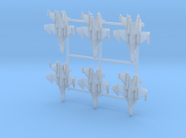 FF-6 Tin Cod Squadron in Smooth Fine Detail Plastic: 1:400