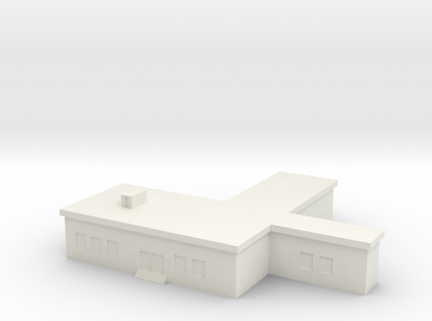 1/500 Command Building in White Natural Versatile Plastic