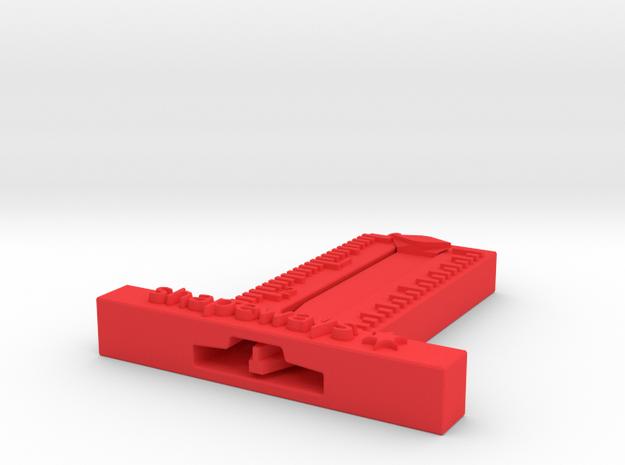 tire tread measurer in Red Processed Versatile Plastic