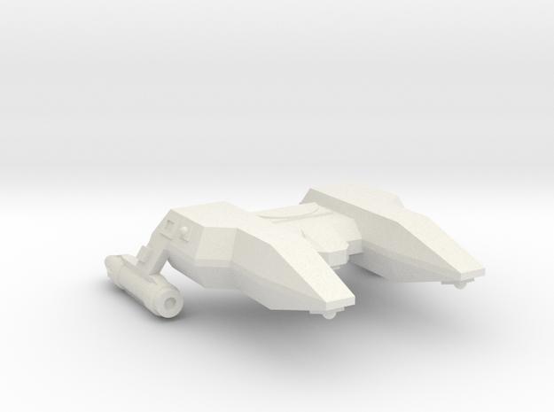 3788 Scale Lyran Manx Police Corvette (POL) CVN in White Natural Versatile Plastic