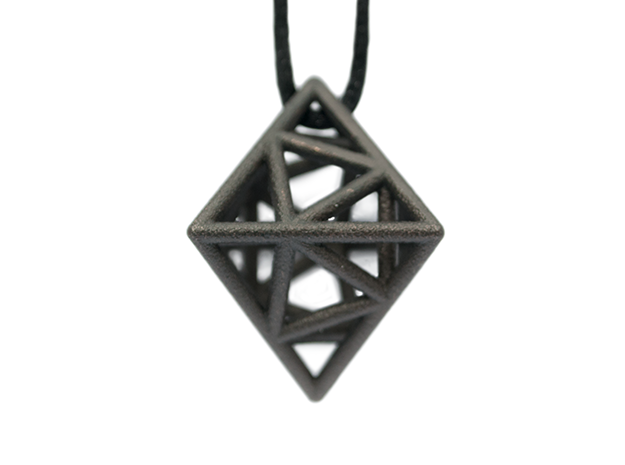 Icosa-Octahedron 3d printed