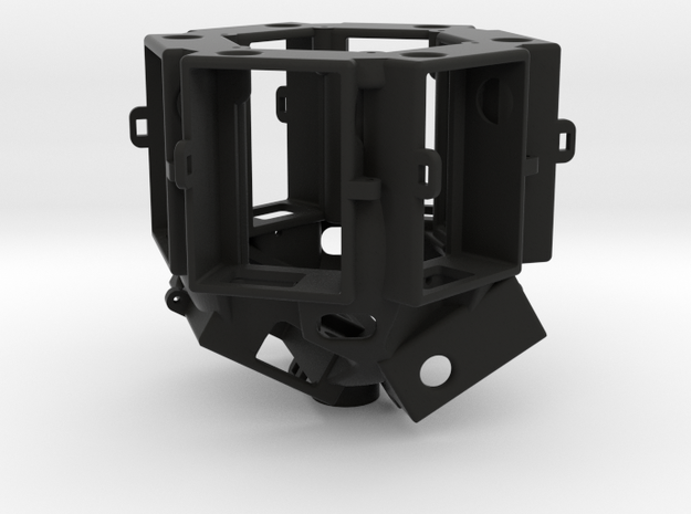 12k GoPro Rig (part 2 of 2) in Black Natural Versatile Plastic