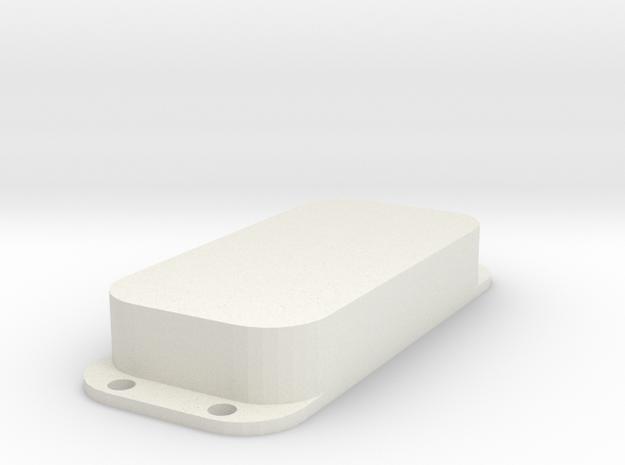 Strat PU Cover, Double, Closed in White Premium Versatile Plastic