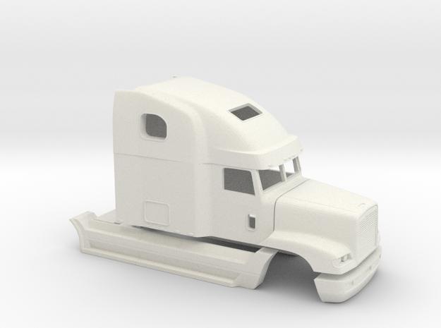 1/32 Frightliner Fld 120 Cab in White Natural Versatile Plastic