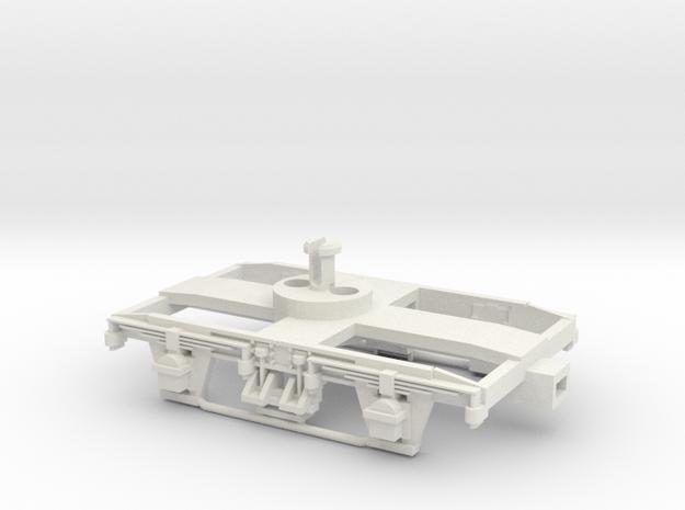 Collett 7' Bogie-LIMA Fit. in White Natural Versatile Plastic