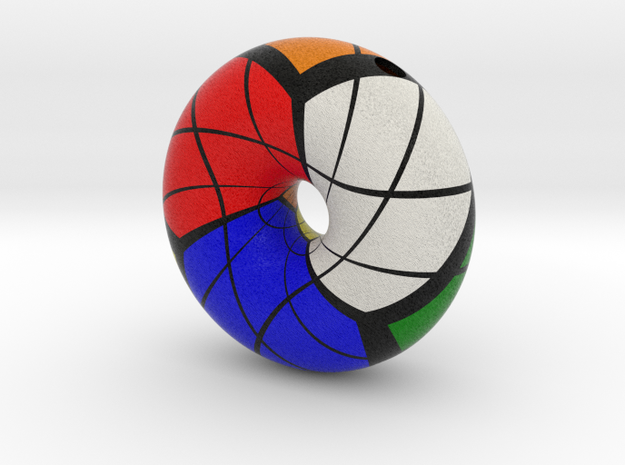 Torus Rubik in Full Color Sandstone