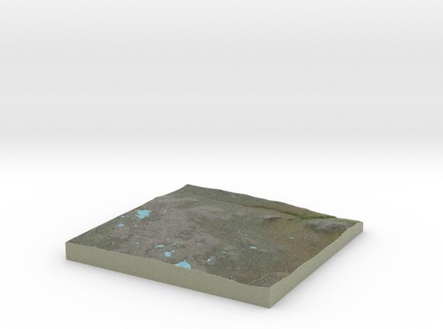 Terrafab generated model Sat Apr 21 2018 16:29:25  in Full Color Sandstone