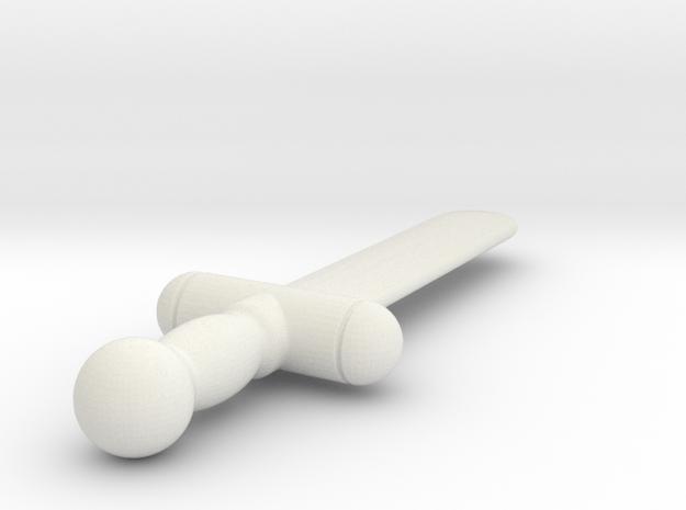 my sword (#116) in White Natural Versatile Plastic
