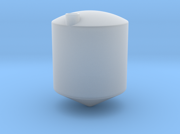 1/64 10000 Gal Cone bottom tank in Smooth Fine Detail Plastic