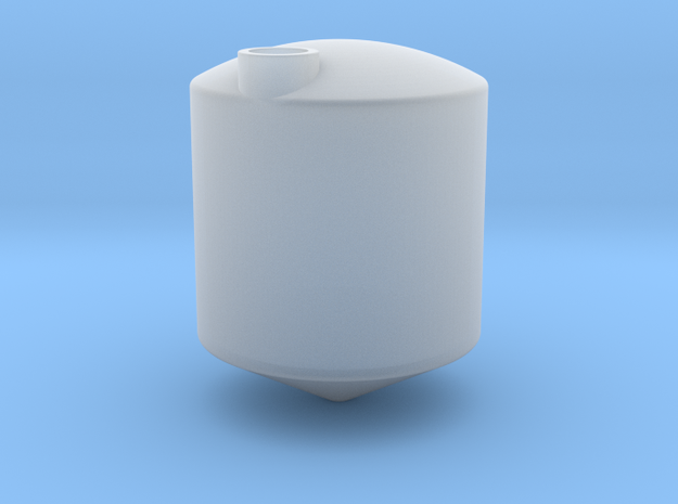 1/64 3000 Gal Cone bottom tank in Smooth Fine Detail Plastic