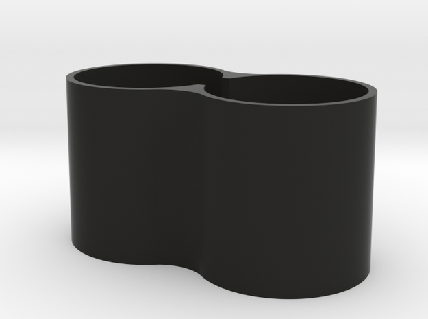 Cinetape Horns Extension  in Black Natural Versatile Plastic