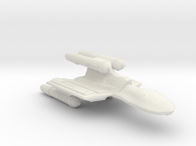 3125 Scale Romulan SuperHawk-K Command Cruiser MGL in White Natural Versatile Plastic