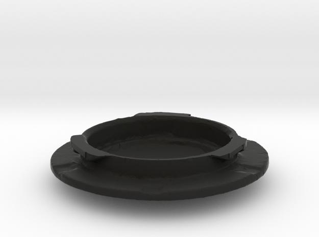 1940 LaSalle / Cadillac horn hub in Black Natural Versatile Plastic