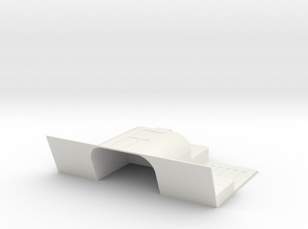 Vanquish - Ripper SCX10.2 kit Tranny Floor Pan in White Natural Versatile Plastic