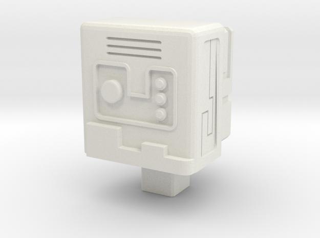 Gobot Stealth Device Matrix Core in White Natural Versatile Plastic